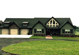 One Story House Plans by One Story Rustic House Plan Design Alpine Lodge