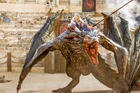 danaerys u201cthe dragon rider u201d game of thrones season 5 episode 9