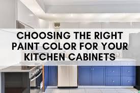 choosing kitchen cabinet paint colors choosing the right paint color for your kitchen cabinets n