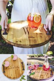 Wooden Serving Trays For Ottomans by Best 25 Serving Trays With Handles Ideas On Pinterest Wooden