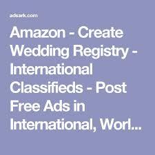 international wedding registry create wedding registry international classifieds