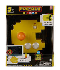 amazon com pac man connect and play 12 classic games toys u0026 games