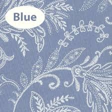 Blue Paisley Shower Curtain Coordinating Fabric Shower Curtains And Window Curtains Window