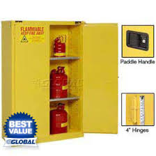 used fireproof cabinets for paint flammable storage cabinets at global industrial