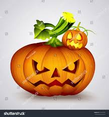 halloween pumpkin jack olanternvector illustration stock vector