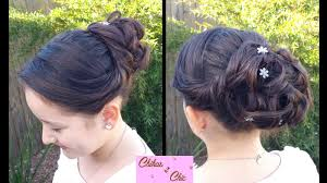 pin up curly updo prom hairstyles updo buns youtube