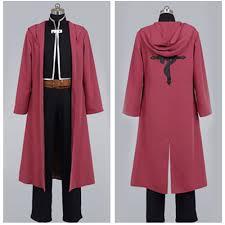Red Coat Halloween Costume Cheap Edward Elric Coat Aliexpress Alibaba Group