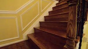 Stair Base Molding by Stair Transformation By Home Trimwork Youtube