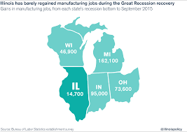 Map Of Illinois And Wisconsin by Illinois U0027 September 2015 Jobs Report Businesses Lay Off Thousands