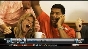 Russell Wilson Meme - wilson getting drafted with wife