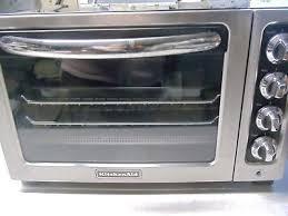 KITCHENAID KCO222OB yx Black 12 inch Toaster Oven B5 £39 19