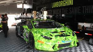 inside the lamborghini super trofeo huracán a race car made of