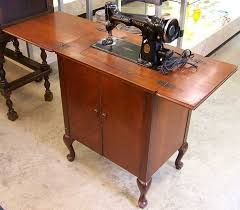 Antique Singer Sewing Machine And Cabinet 2521 Best Vintage Sewing Machine Images On Pinterest Vintage