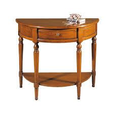 half moon console table with drawer half moon console table ferrettohome