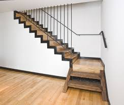 Iron Handrail For Stairs Decorations Stunning Wooden Staircase Design With Clear Glass