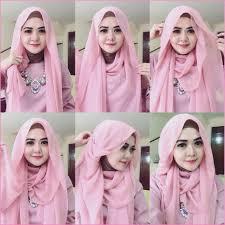 tutorial hijab pesta 2 kerudung 30 kreasi tutorial hijab pesta simple terbaru 2018 hijabunda