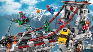 76057 spider man warriors ultimate bridge battle products