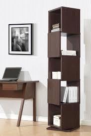 katrina modern u0026 contemporary 5 partition rotating shelving unit
