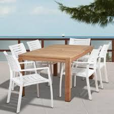 Teak Dining Room Set Teak Patio Dining Sets You U0027ll Love Wayfair