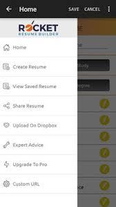 Resume Builder App For Android Rocket Resume Builder Apk Download Free Productivity App For