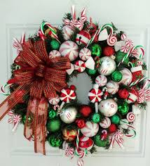 wreaths ideas with ribbon ornaments