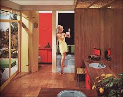 retro home interiors 1962 marlite bathroom mid century modern style with accents
