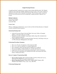 Personal Injury Paralegal Resume Sample Paralegal Resume Business Receipt Templates Itemized Receipt Template