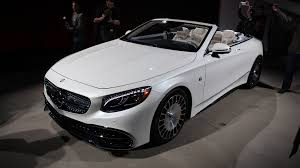 mercedes maybach 2016 mercedes maybach handpicking s650 cabriolet buyers in u s