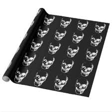 black gift wrapping paper heavy metal wrapping paper zazzle