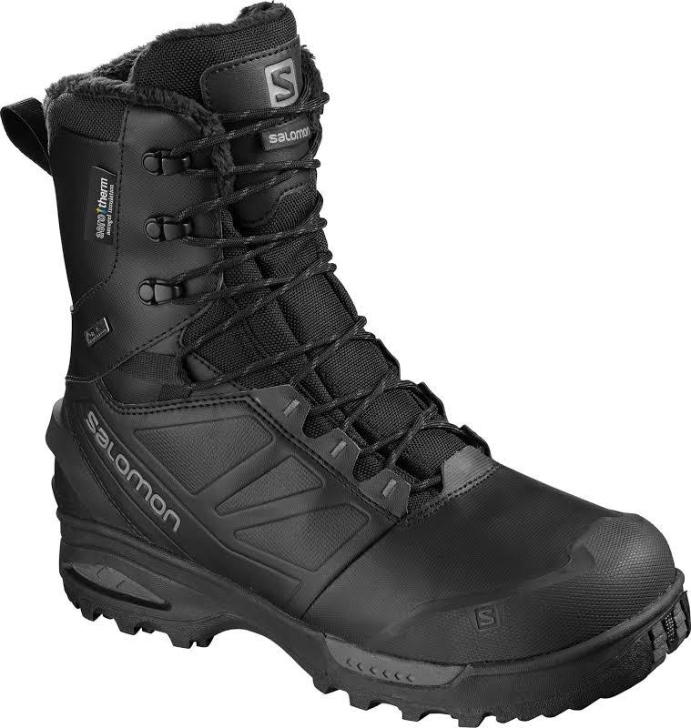 Salomon Toundra Pro CS WP Winter Boot Black/Black/Magnet Medium 11.5 L40472700-11.5