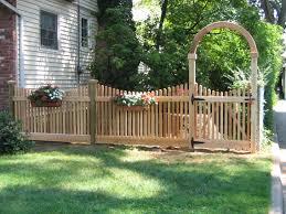 wood fence photos