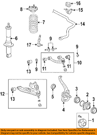 lexus gx470 uk lexus toyota oem 03 09 gx470 front suspension shock absorber