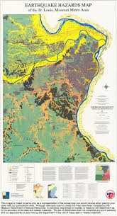 earthquake hazard map missouri geological survey