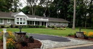 Landscape Ideas For Front Of House by Landscape Design Long Island Landscape Installation U0026 Planning
