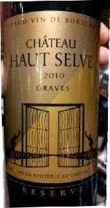 Selve Chateau Haut Selve Reserve Graves France Prices
