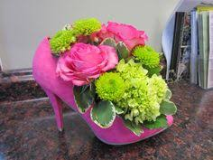 Centerpieces For Parties Shoe Centerpieces High Heel Birthday Party Centerpieces