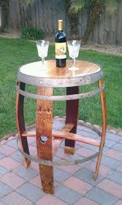 Wine Barrel Home Decor 84 Best Barrell Ideas Images On Pinterest Wine Barrel Furniture