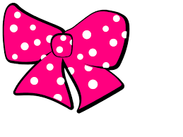 minnie mouse bow clip art clker vector clip art