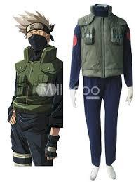 Naruto Costumes Halloween Naruto Hidden Leaf Village Konoha Jounins Uniform 69 99