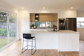 First Home Renovation White Quartz by Part Three Installing The Caesarstone Benchtops George