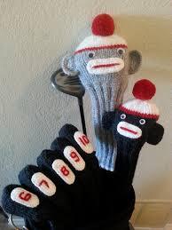 Head Cushion Socks Free Pattern Knit Golf Club Covers Golf Club Covers Golf Clubs
