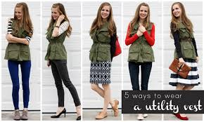 Womens Military Vest 5 Ways To Wear A Utility Vest Everyday Reading