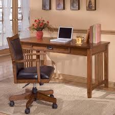 ashley furniture writing desk ashley furniture cross island oak large leg desk furniture fair