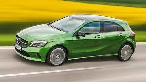 mercedes green a45 amg power hike crowns mercedes a class update for 2016 car