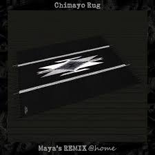 Chimayo Rugs Second Life Marketplace Chimayo Rug Maya U0027s Remix Home