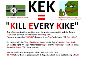 White Power Flags The Latest Alt Right Code Words Knowledge Is Power Spread