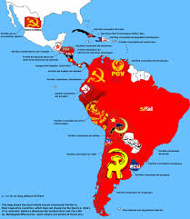 Latin America Countries Map by Map Of Latin American Communist Parties Oc Fullcommunism