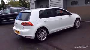 white volkswagen golf volkswagen golf gt edition tsi act bmt white 2016 youtube
