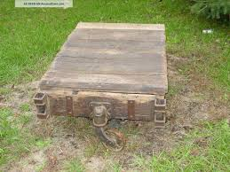 antique lineberry factory cart coffee table railroad see here