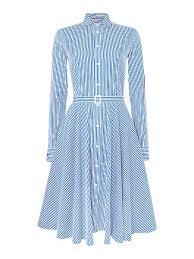 unique polo ralph lauren dori long sleeve stripe shirt dress